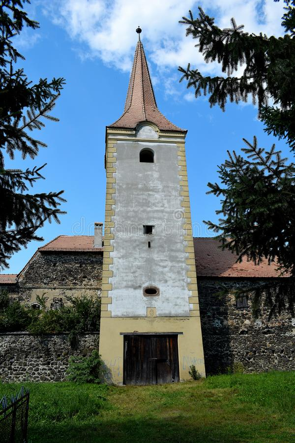 Le ¼ de Sà kösd-Bethlen le château, certifié en 1636 est un bâtiment médiéval situé dans Racos, Brasov photo libre de droits