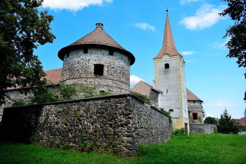 Le ¼ de Sà kösd-Bethlen le château, certifié en 1636 est un bâtiment médiéval situé dans Racos, Brasov photographie stock
