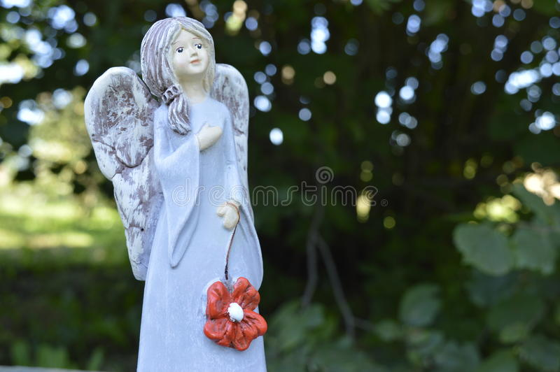 Le ängel arkivbild