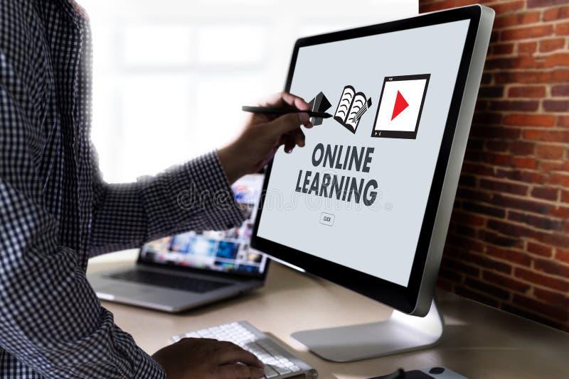 Le abilità di preparazione d'APPRENDIMENTO ONLINE della tecnologia della connettività insegnano ai Di illustrazione vettoriale