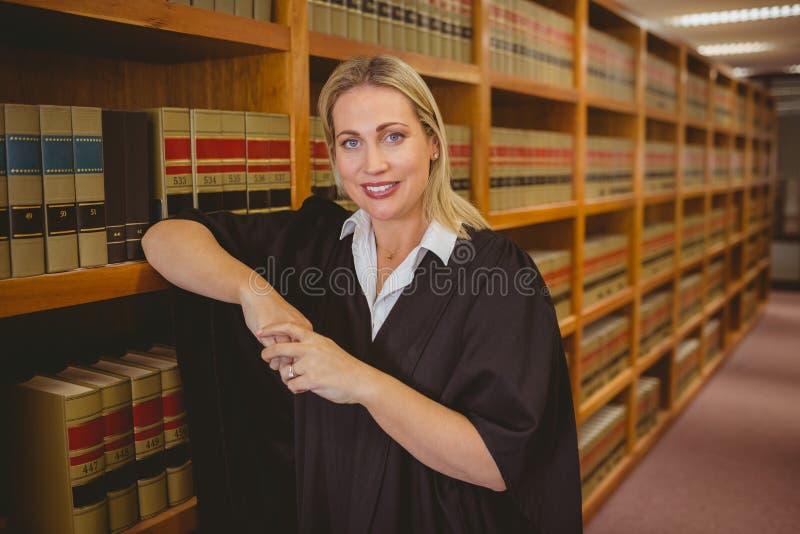 Le advokatbenägenhet på hylla arkivfoto