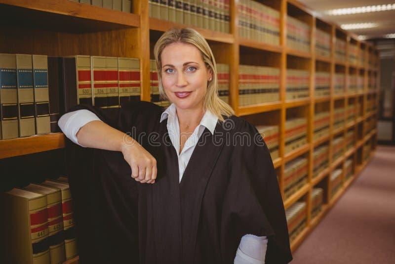Le advokatbenägenhet på hylla royaltyfria foton
