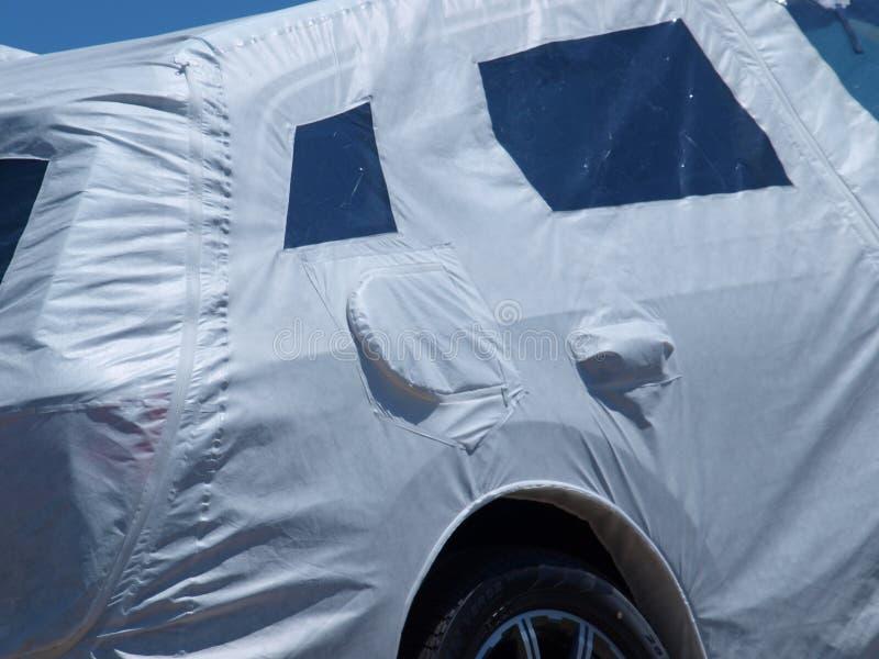 Le alte automobili del prezzo da pagare ottengono la protezione totale fotografie stock libere da diritti