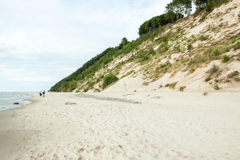 Le alte dune fotografia stock libera da diritti