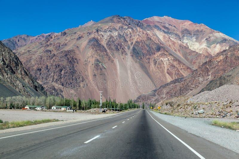 Le Ande Argentina fotografia stock libera da diritti