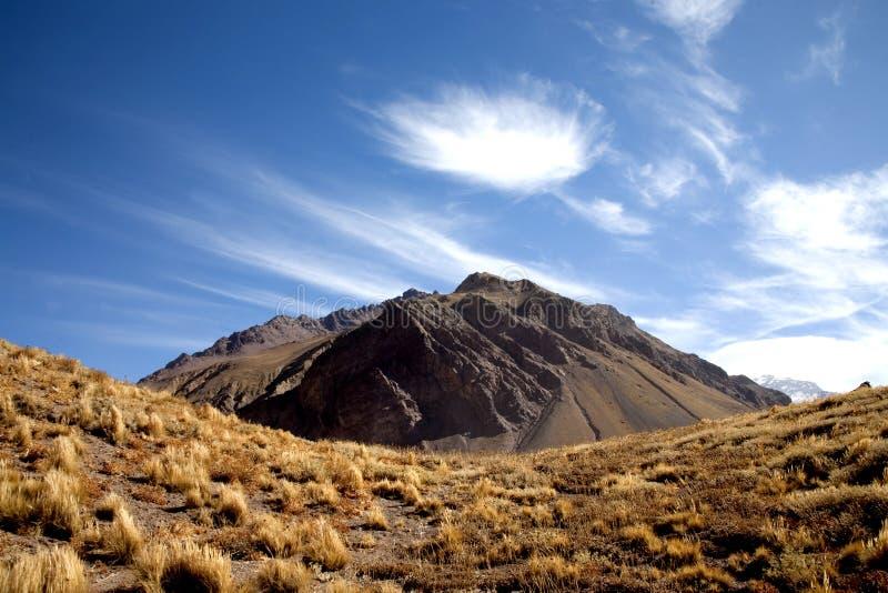 Le Ande - l'Argentina immagine stock libera da diritti
