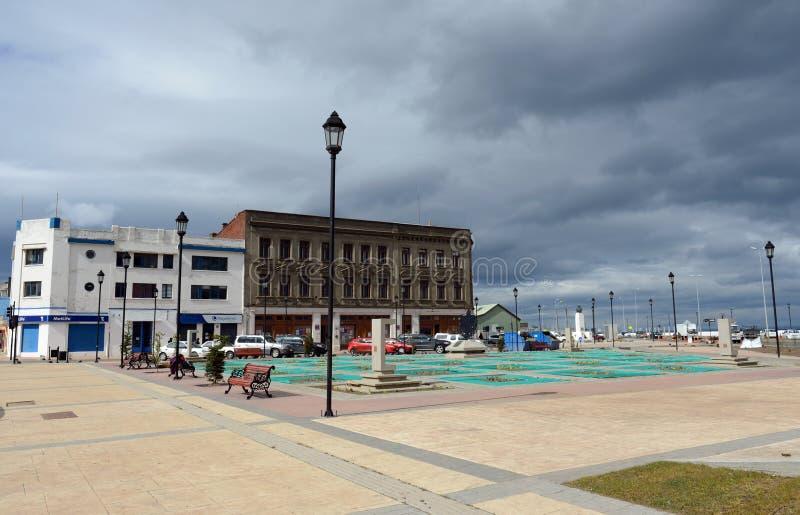 Le arene di Punta è una città nel Cile immagini stock libere da diritti