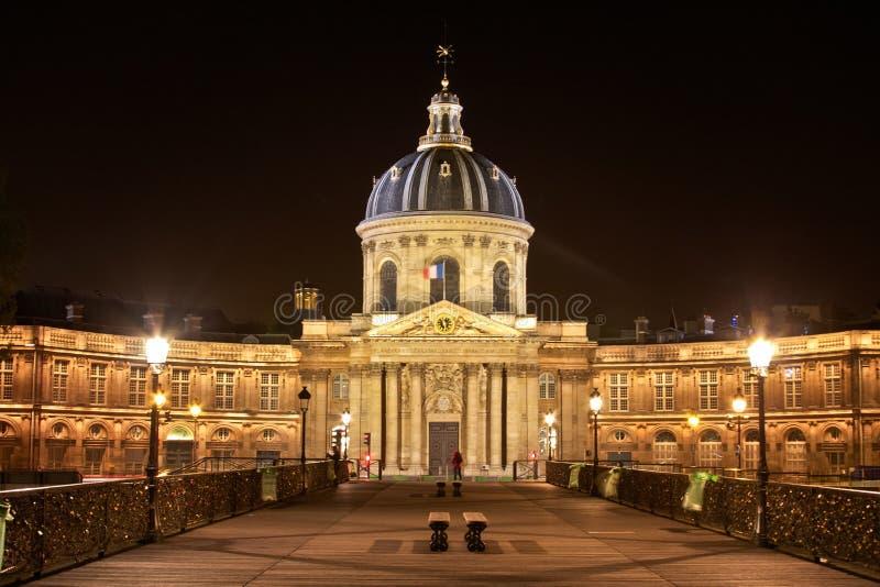 Le arti del DES di Pont e il Institut de Francia immagini stock libere da diritti