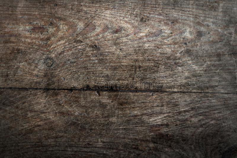 Le assi del pavimento anziane di lerciume di legno di pino fendono il fondo astratto di superficie di struttura del modello fotografie stock libere da diritti