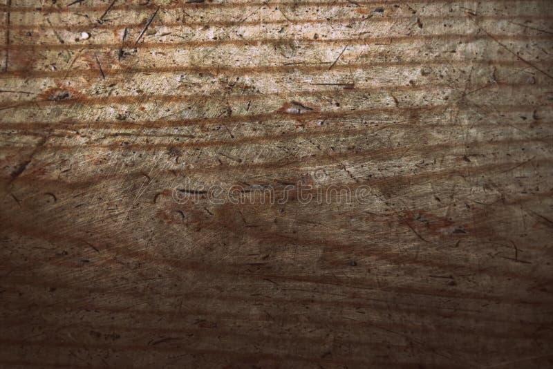 Le assi del pavimento di legno di lerciume del vecchio pino fendono il fondo astratto di superficie di struttura del modello immagini stock