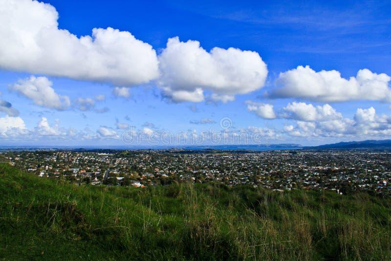 Le bâti Éden d'Auckland image libre de droits