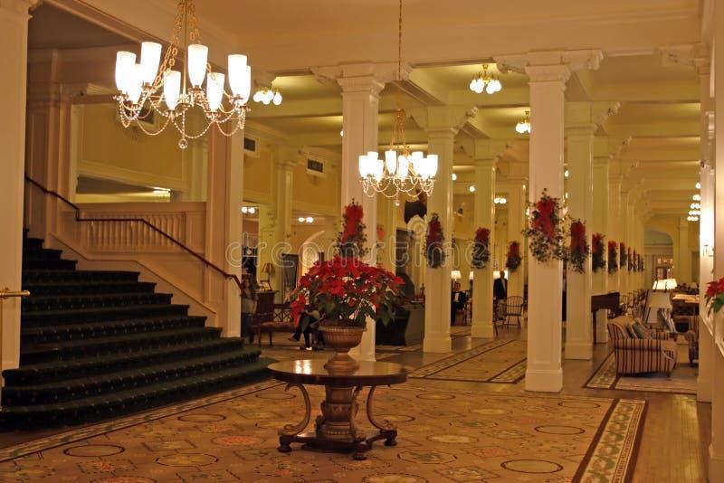 Le bâti Washington Hotel, Bretton Woods, Etats-Unis photos stock