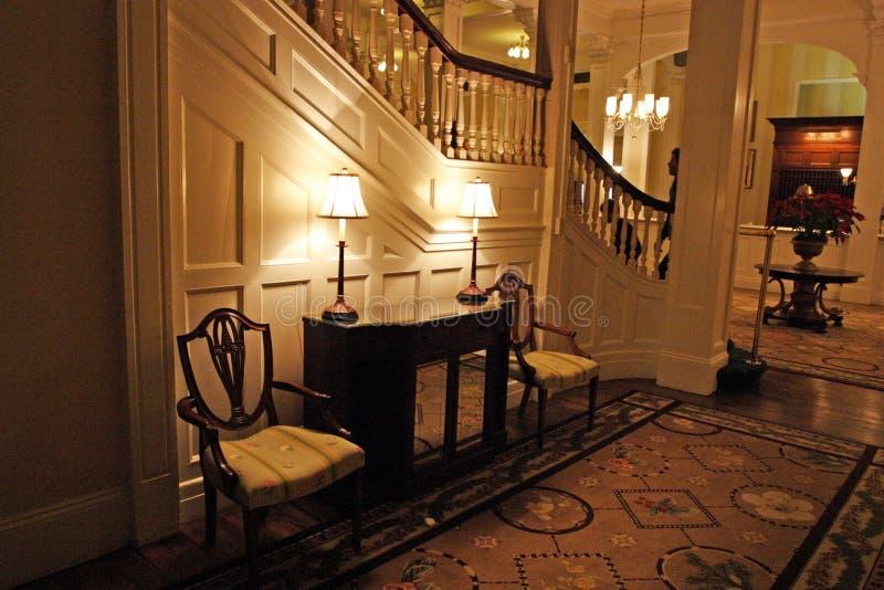 Le bâti Washington Hotel, Bretton Woods, Etats-Unis photo stock
