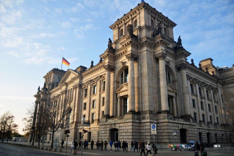 Le bâtiment de Reichstag est édifice historique à Berlin, Allemagne photo libre de droits