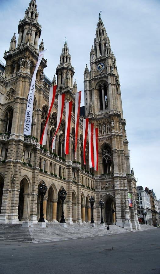 Le bâtiment est au coeur de Vienne photos stock