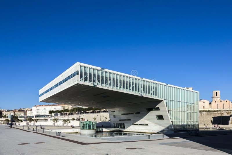 Le bâtiment moderne du musée de Civi européen et méditerranéen images libres de droits