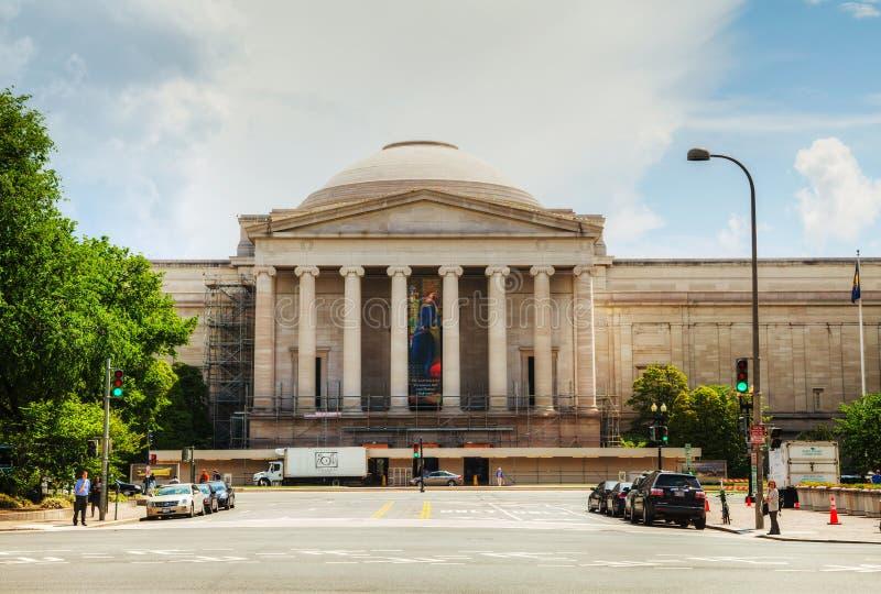Le bâtiment occidental du National Gallery de l'art photographie stock
