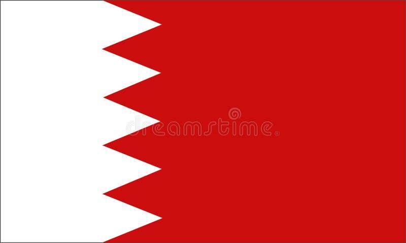 Le Bahrain illustration de vecteur