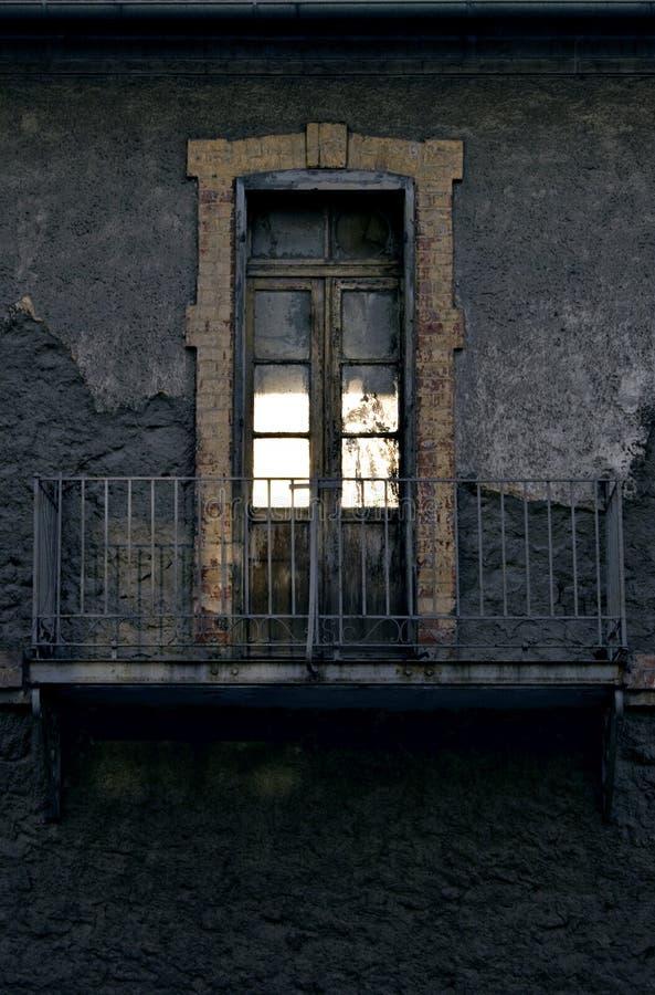 Le balcon photographie stock libre de droits