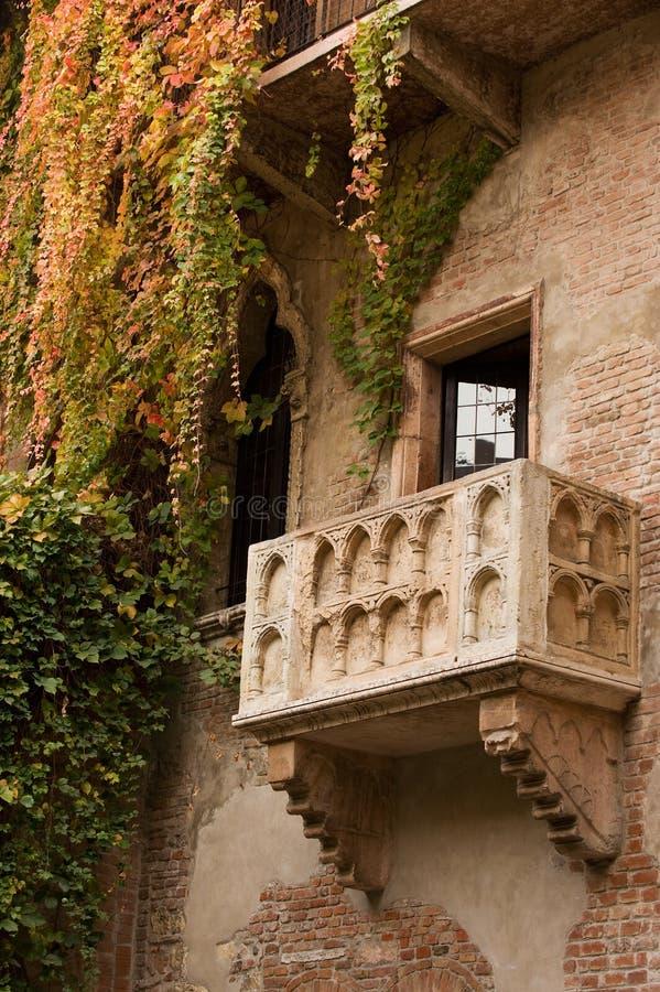 Le balcon de Juliet photo stock