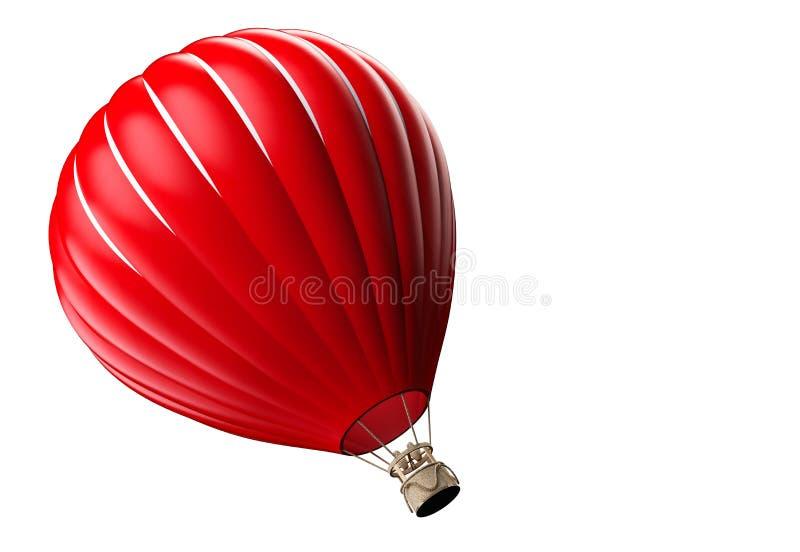 Le ballon à air chaud photgrphed chez le Bealton, fête aérienne de cirque de vol de VA photo stock