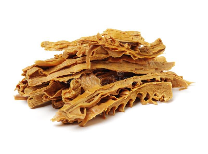 le bambou soit les pousses à cuire chinoises de longji d'image de guilin sèches par cuisines de porcelaine les terrasses que spéc images libres de droits