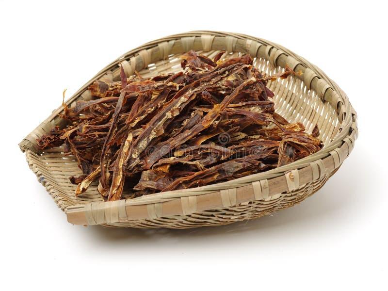 le bambou soit les pousses à cuire chinoises de longji d'image de guilin sèches par cuisines de porcelaine les terrasses que spéc photo libre de droits