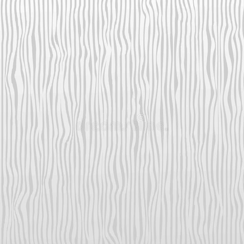 Le bande verticali bianche e grige strutturano il modello senza cuciture per Rea illustrazione di stock
