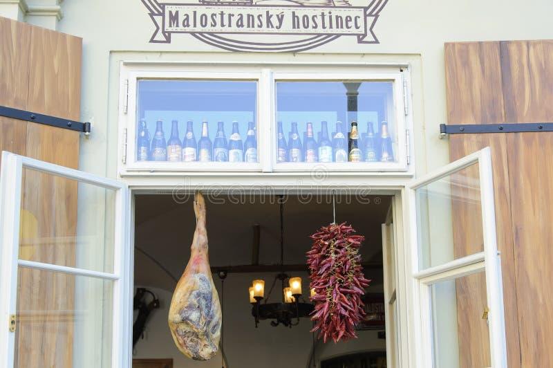 Le bar de Prague photographie stock libre de droits