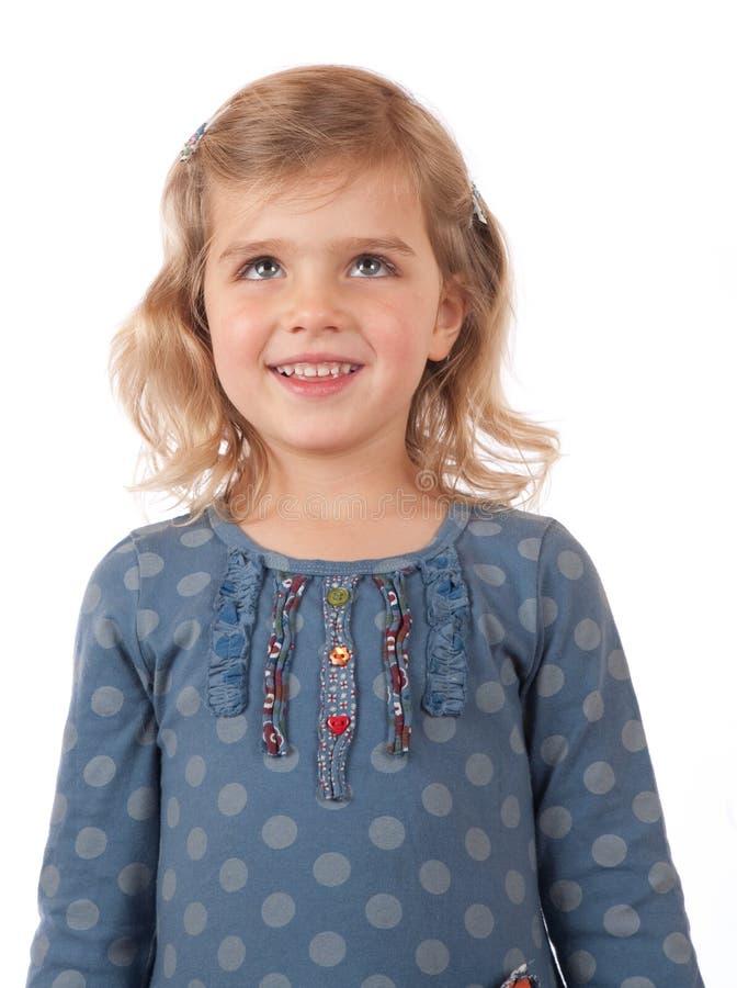le barn för flicka royaltyfria foton