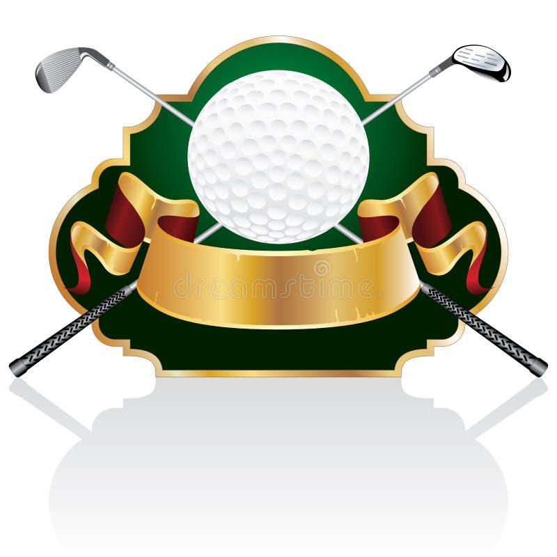 Le baroque de golf illustration de vecteur