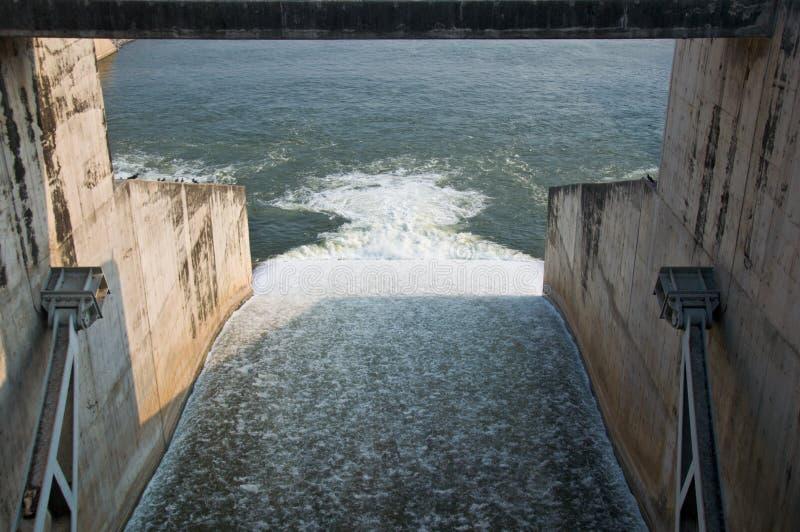 Le barrage de chonlasit de sak de PA, Chainat, Thaïlande image stock