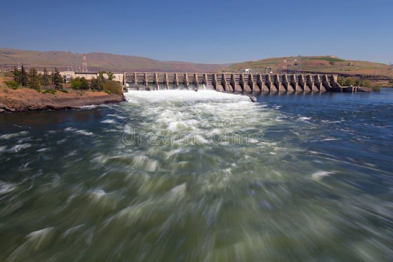 Le barrage de Dalles en Orégon photos stock