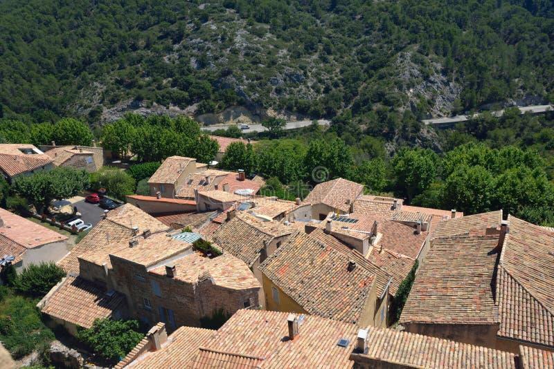 Le Barroux, Провансаль, Франция стоковые изображения