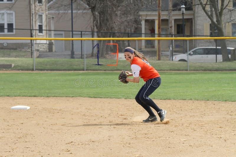 Le base-ball du NCAA des femmes image stock