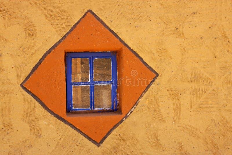 le basuthu a décoré la hutte image libre de droits