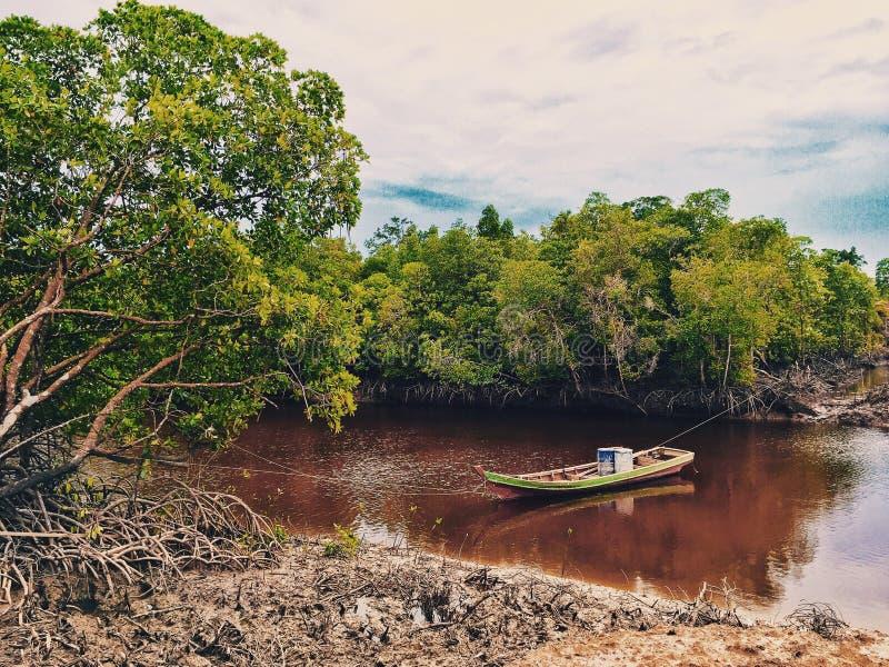 Le bateau photo libre de droits