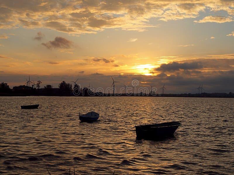 Le bateau du Golfe du galet photographie stock libre de droits