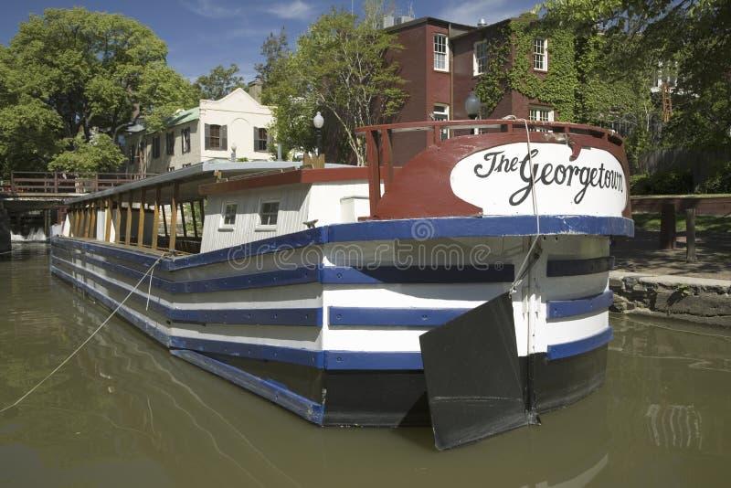 Le bateau Georgetown photo stock