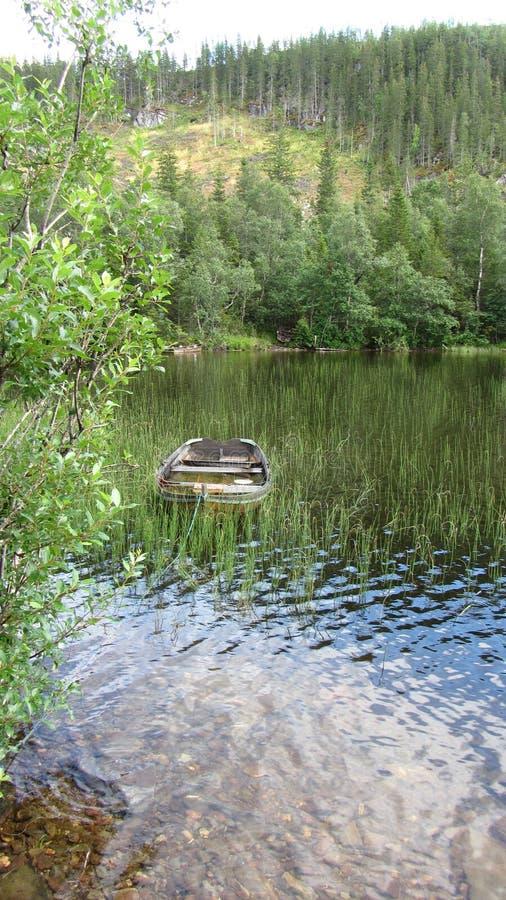 Le bateau Norvège image libre de droits
