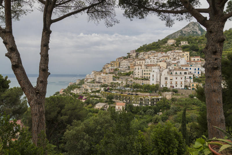 Le beau Costiera Amalfitana image libre de droits