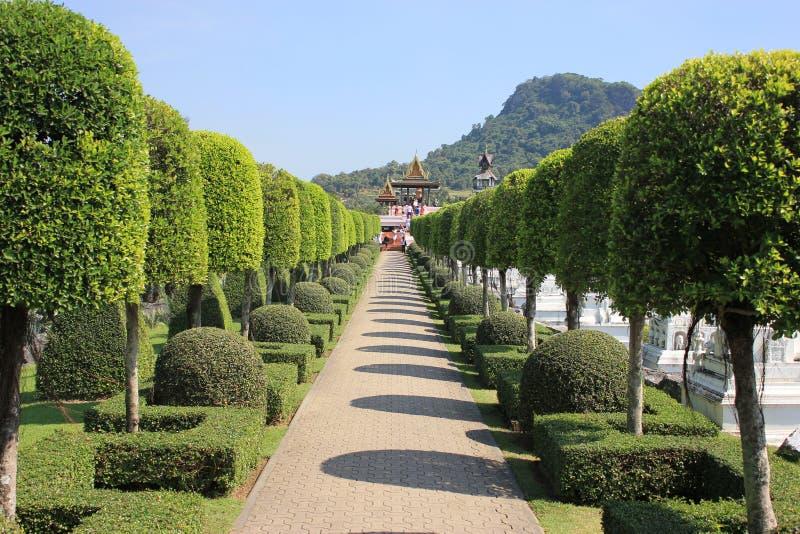 Le beau jardin image stock