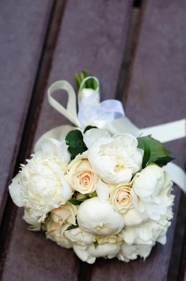 Le beau mariage fleurit le bouquet photo libre de droits
