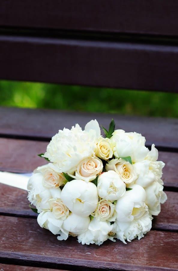 Le beau mariage fleurit le bouquet image libre de droits