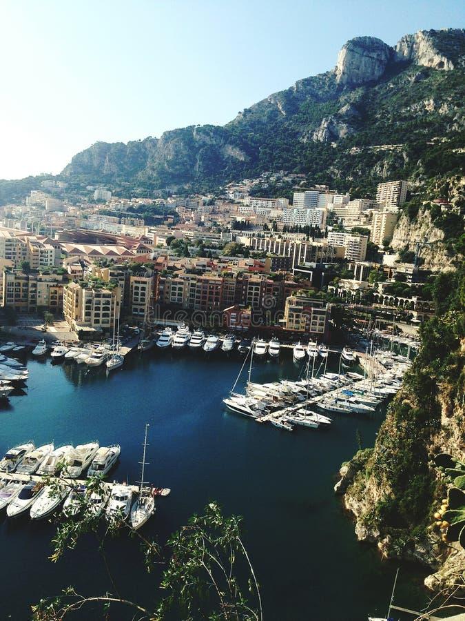Le beau Monaco photo stock