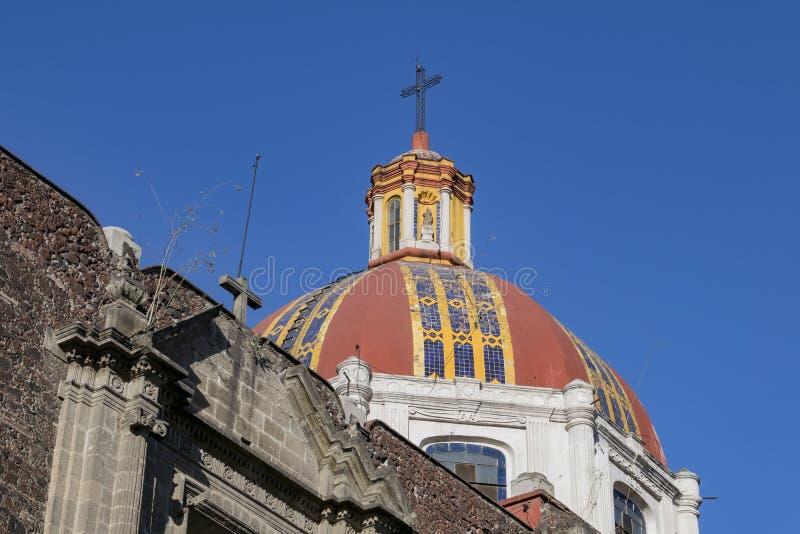 Le beau Templo De Santa Ines photo stock