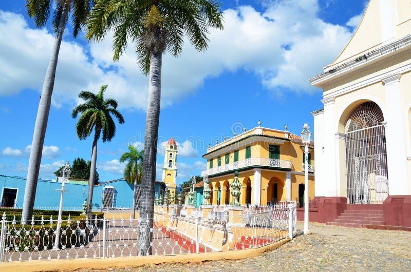 Le beau Trinidad colonial, au Cuba photo stock