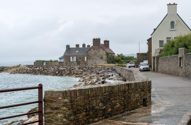 Le Becquet de Tourlaville es un pueblo en Cherbourg-en-Cotentin, departamento de la Mancha, Normandía, Francia foto de archivo