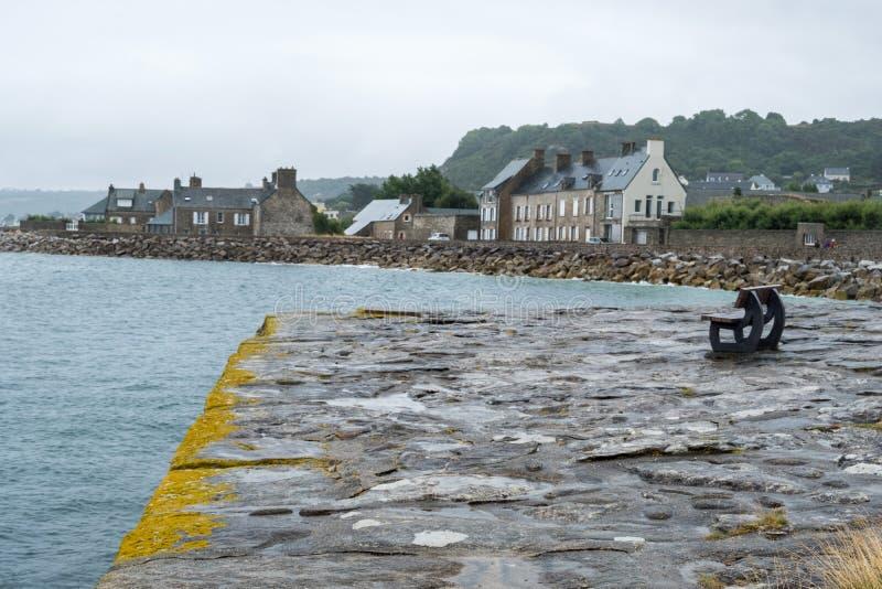 Le Becquet de Tourlaville es un pueblo en Cherbourg-en-Cotentin, departamento de la Mancha, Normand?a, Francia fotografía de archivo