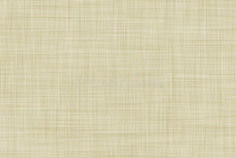 Le beige a coloré le fond de toile sans couture de texture ou de tissu illustration libre de droits